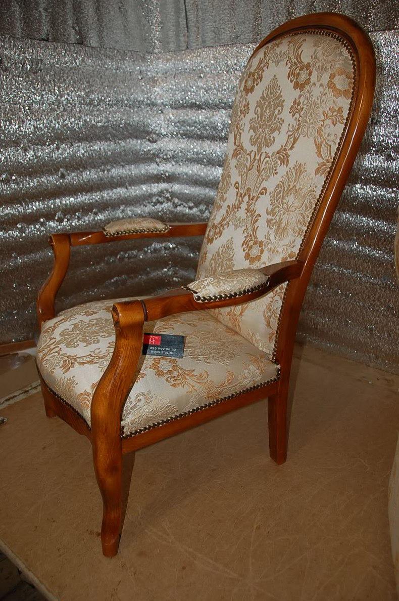 Как своими руками обтянуть стул